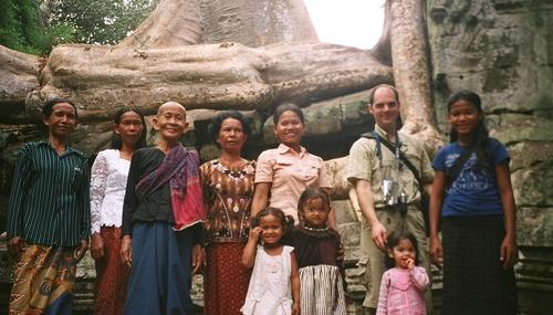 Eath's family in cambodia